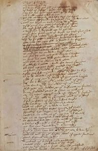 text attributed to Shakespeare; or is it the writing of Thomas More or Francis Bacon?