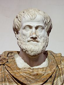 Aristotle - copy from a 322BC bronze