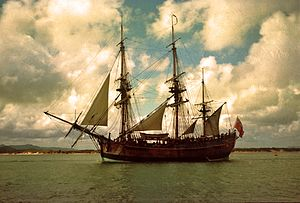 300px-HM_Bark_Endeavour_replica_in_Cooktown